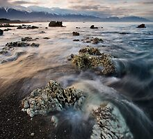 Rock Wraiths at Dusk by Ken Wright