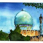 madrassa in Esfahan, Iran by taariqhassan
