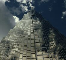 Dramatic Skyscraper - Toronto by DMHImages
