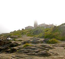 Conanicut Island Series - Beavertail Lighthouse - 2009.07.28 by Jack McCabe