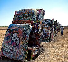 Cadillac Ranch by Artt