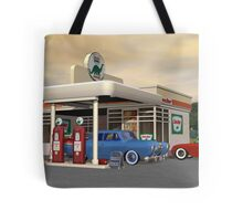 1950's Gas Station Tote Bag