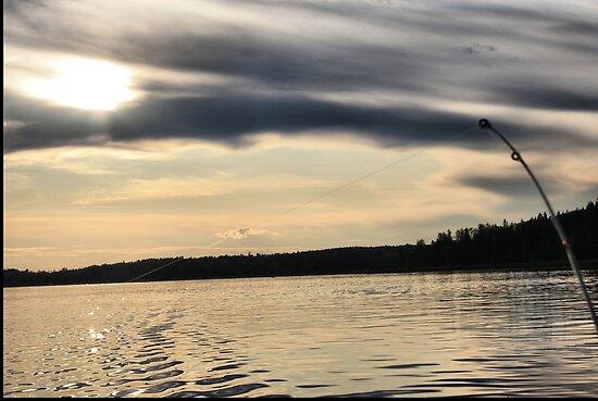 Fisherman's View by Leslie van de Ligt