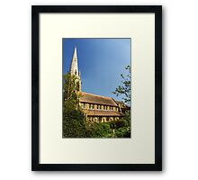 The New St Peter and St Paul Anglican Parish Church Framed Print