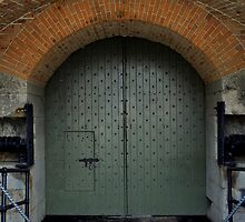 Fort Barrancas' Archs and Doors III by Magricely Diaz