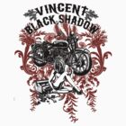 Vincent Black Shadow by Evan Lole