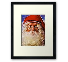 Father Christmas Framed Print