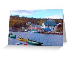 North West Cove Greeting Card