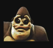 Smiling Gorila by terrebo