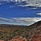 Serpentine Gorge, NT by paulmcardle