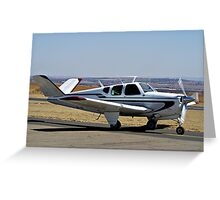 Beechcraft Bonanza V-Tail Greeting Card