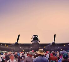 Thats One Big Plane by Epazia Espino