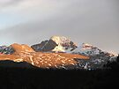 A Long Sunet, Longs Peek Colorado by NatureGreeting Cards ©ccwri