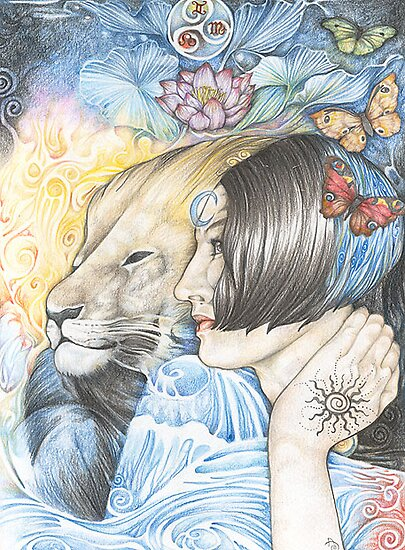 Ariel and the Lion by Patricia Ariel