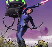 Robot Fighter by mdkgraphics