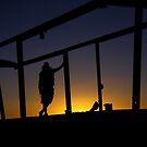 Sunset Traveller by HeatherEllis