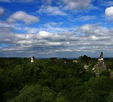 On Top of Tikal by HeatherEllis