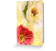 Whispering Softly Greeting Card