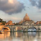 Tiber River by Christophe Testi