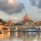 Tiber River by Christophe Testi