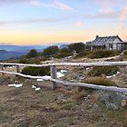 Craig's Hut, Mt Stirling, Australia by Michael Boniwell