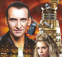 Christopher Ecclestone the 9th Doctor by Colin Howard