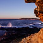 Maroubra Rock Face by HeatherEllis