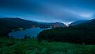 Night Image of Grasmere - Cumbria by David Lewins