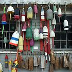 Lobster Buoys by theflashbulb