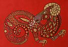 Red Dragon No. 3 by Lynnette Shelley