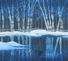 Winter Reflections by Mikki Alhart