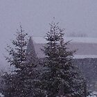 snowing by cherylsnake