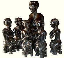 AFRICAN MOTHERS, 2008 by Adi  Bachmann