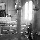 Church window by Rodney Trenchard