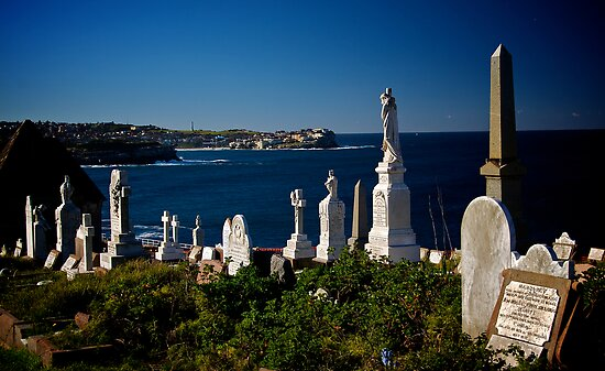 Waverley Cemetery, Sydney, July 2009 by Gayan Benedict