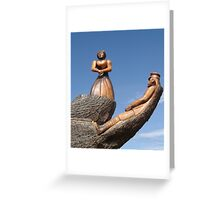 The Lady & the Sailor Greeting Card