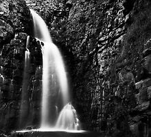 First Falls (b&w) by Craig Hender
