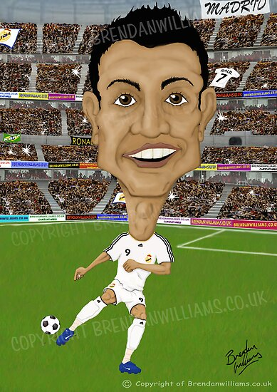Cristiano Ronaldo by Brendan Williams