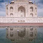 Reflections Of Love, The Taj Mahal, Agra, India. by Darren Newbery