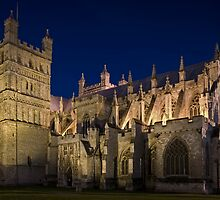 Exeter Cathedral by Darren Newbery