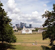 Greenwich Park, London by Paul Woloschuk