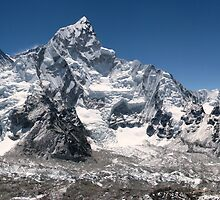 Everest Himalayan Range by Cedar Wolf