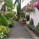 Flag Street, Hawkshead, Cumbria, English Lake District by Philip Mitchell