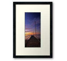 Rockingham Jetty  Framed Print
