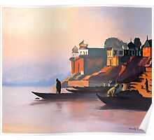 Ganges at Dawn Poster
