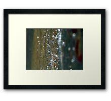 Hard Rain Framed Print