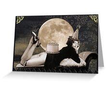 Birthday Moon Greeting Card