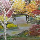Autumn Bridge by Mikki Alhart
