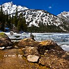 A little ice and snow by Hal Smith