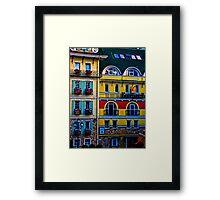 Kontrakt Framed Print
